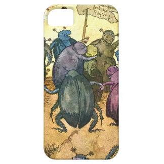 Beetles Celebrating Midsummer iPhone SE/5/5s Case