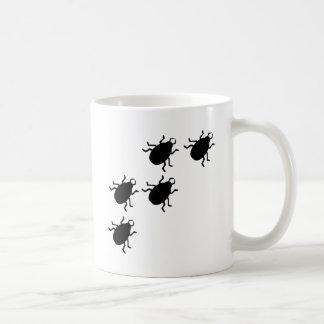 beetles icon classic white coffee mug