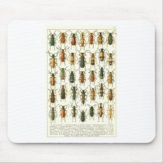 beetles mouse pad
