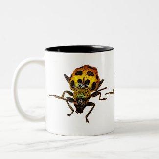Beetles mug
