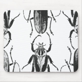 Beetles on Parade Mouse Pad