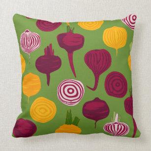 Beetroot Pillows Decorative Throw Pillows Zazzle - Hamburger-scatter-cushions