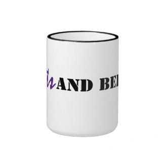 Beets and Bebop Ringer Mug