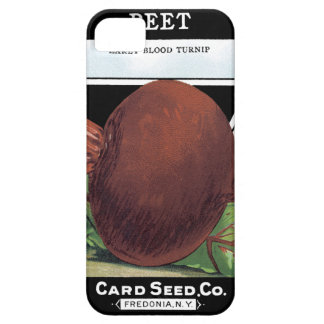 Beets Card Seed Co. packet Vintage Fredonia, NY iPhone SE/5/5s Case