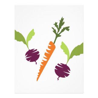 Beets & Carrots Letterhead