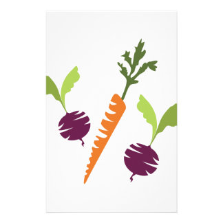Beets & Carrots Stationery