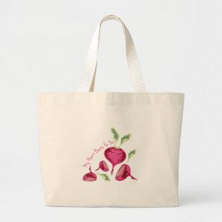 Beets For You Jumbo Tote Bag