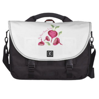 Beets For You Laptop Commuter Bag