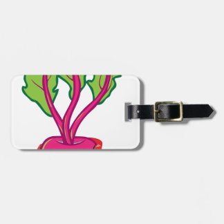 beets luggage tag