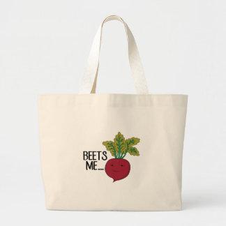 Beets Me Jumbo Tote Bag