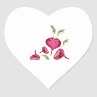 Beets Heart Sticker