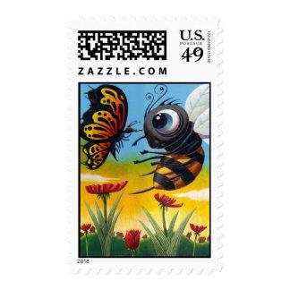 BeeZurk Butterfly Postage Stamps