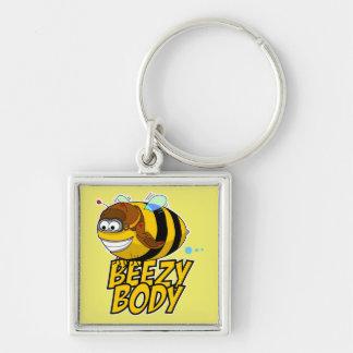 Beezy Body Bee Keychain