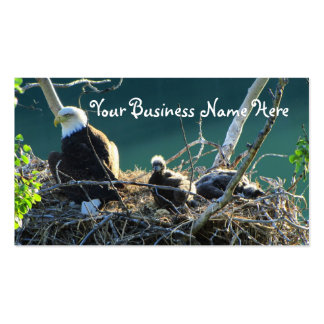 BEF Bald Eagle Family Double-Sided Standard Business Cards (Pack Of 100)