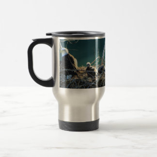 BEF Bald Eagle Family Travel Mug