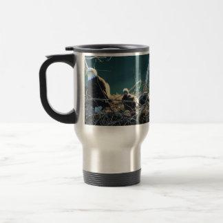 BEF Bald Eagle Family Travel Mug