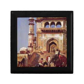 Before A Mosque by Edwin Lord Weeks Jewelry Box
