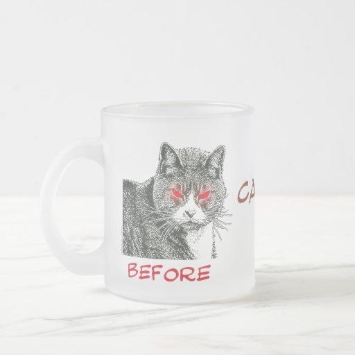 Before & After Caffeine - Mug #4