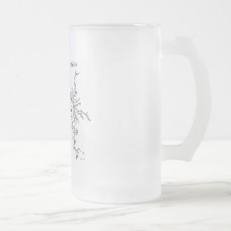 Before & After: First Day of School to Graduation Frosted Glass Beer Mug