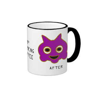 Before & After My Morning Coffee Mug
