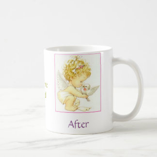 Before and After Coffee Mug