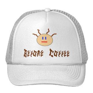 Before Coffee Trucker Hat