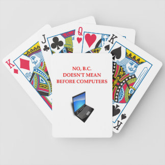 before computers bicycle card decks
