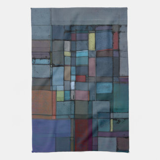 Before Dawn Abstract Art Kitchen Towel