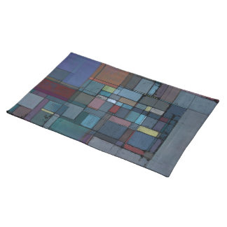 Before Dawn Abstract Art Placemat