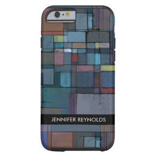 Before Dawn Abstract Art  Tough iPhone 6 Case