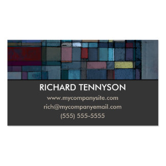 Before Dawn Abstract Custom Business Cards