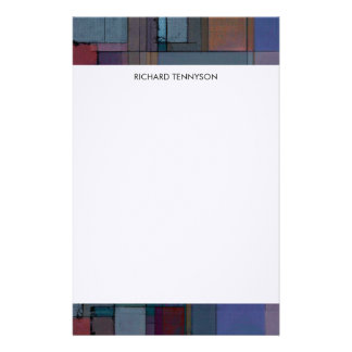 Before Dawn Artsy Personalized Stationery