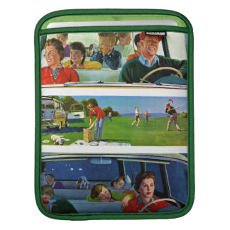 Before, During & After Picnic iPad Sleeve