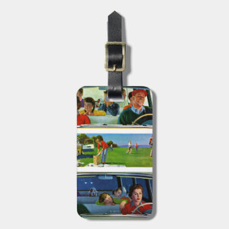Before, During & After Picnic Luggage Tag