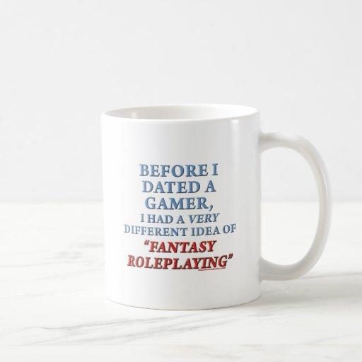 Before I Dated a Gamer Coffee Mug