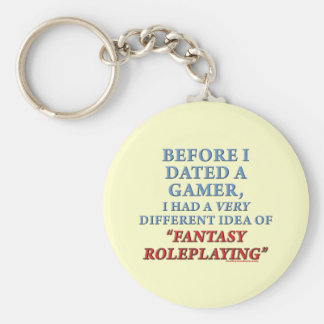Before I Dated a Gamer Keychain