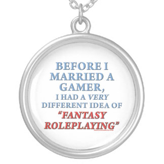 Before I Married a Gamer Necklaces
