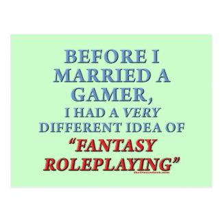 Before I Married a Gamer Postcard