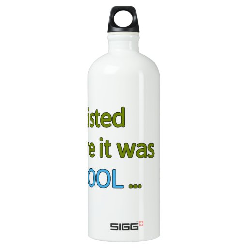 Before it was cool SIGG traveler 1.0L water bottle