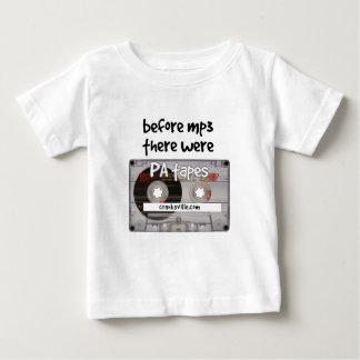 before mp3 there were PA tapes Tee Shirt