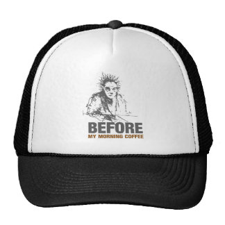 Before My Morning Coffee Trucker Hat