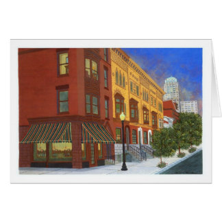 Before Night Falls Greeting Cards