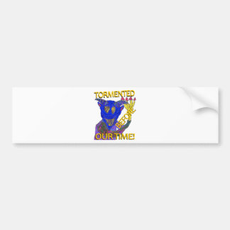 """Before Our Time"" Blue Demon Bumper Sticker"