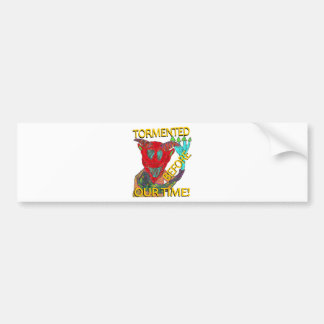 """Before Our Time"" Red Demon Bumper Sticker"