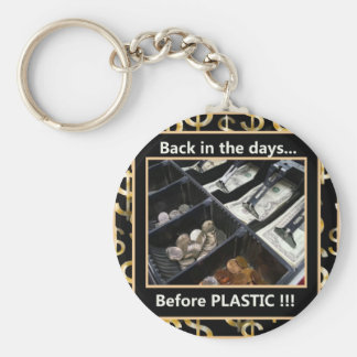 Before Plastic Keychain