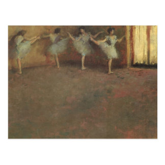 Before the Ballet by Degas Vintage Impressionism Post Card