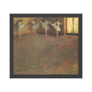 Before the Ballet by Edgar Degas, Vintage Fine Art Canvas Print
