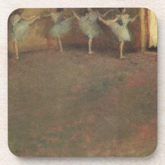 Before the Ballet by Edgar Degas, Vintage Fine Art Coaster