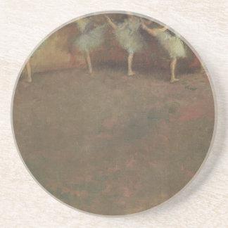 Before the Ballet by Edgar Degas, Vintage Fine Art Drink Coaster