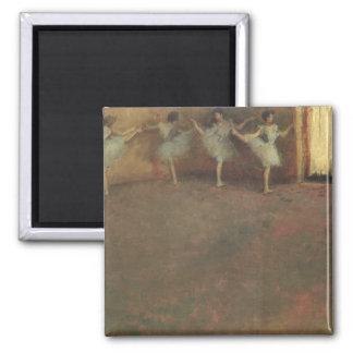 Before the Ballet by Edgar Degas, Vintage Fine Art Magnet